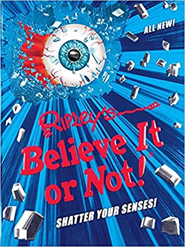 Ripley's Believe It Or Not! Shatter Your Senses! (ANNUAL) cover