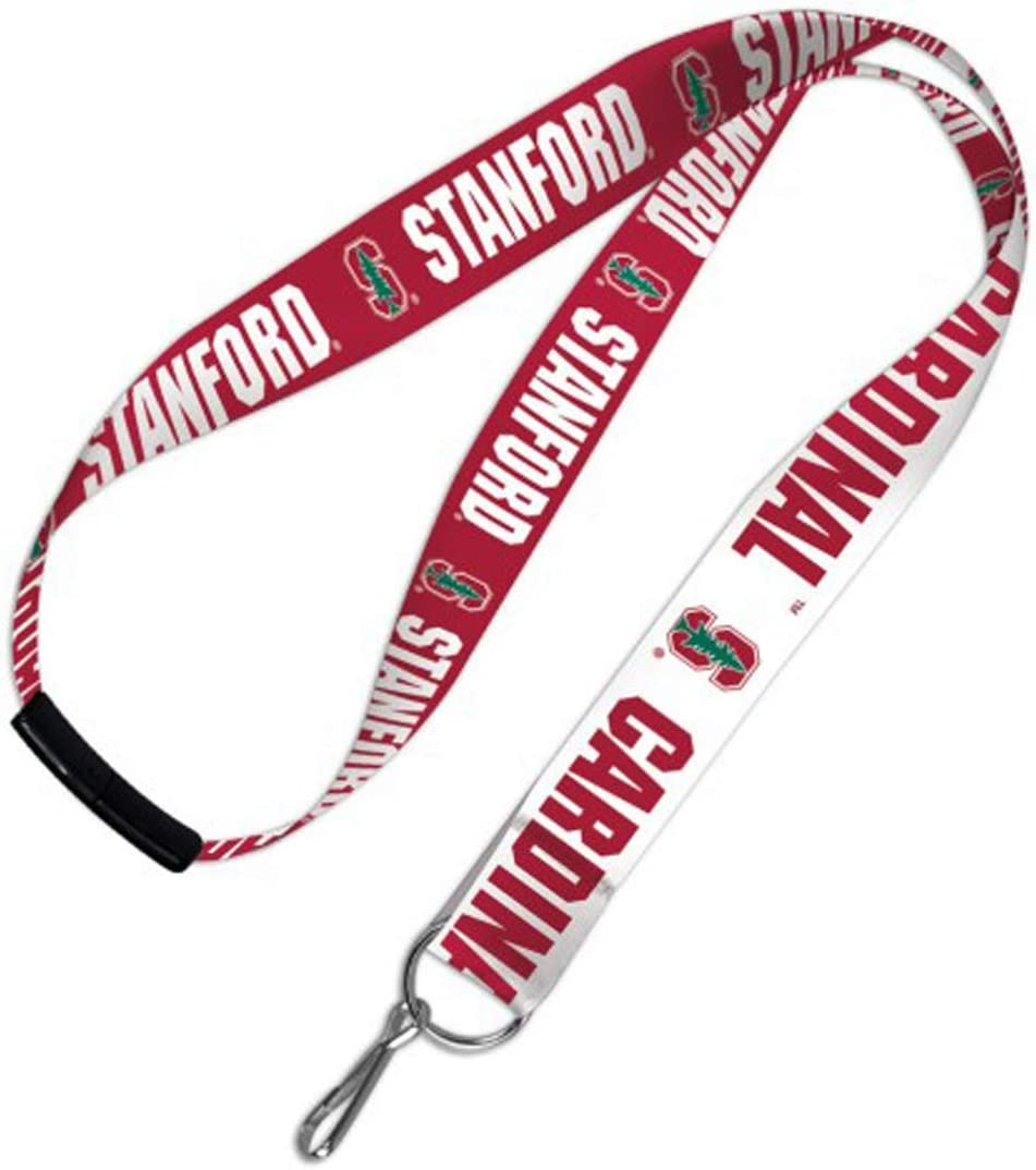 WinCraft Stanford Cardinal with Logo Lanyard with Safety Breakaway Clasp