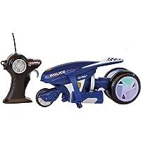 MAISTOTECH-82066P Moto de Policía con Radio Control, Color