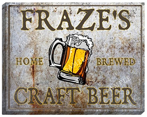 frazes-craft-beer-stretched-canvas-sign
