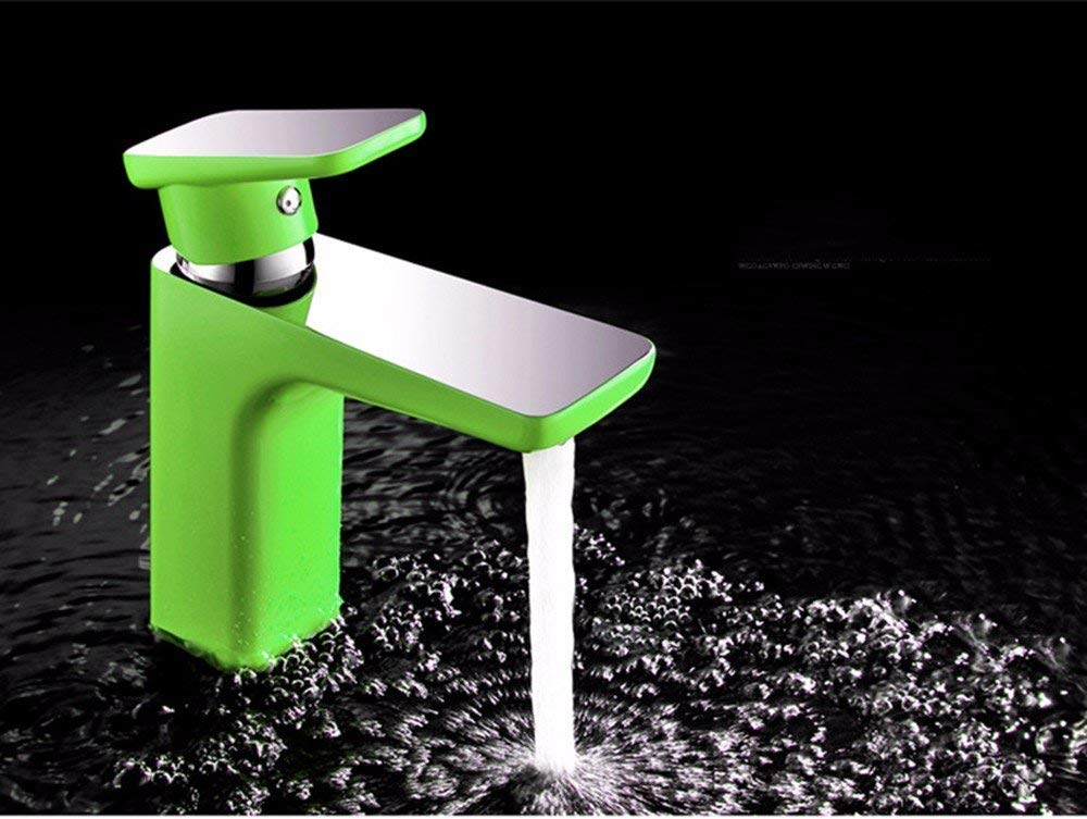 Oudan The minimalist style copper WC washbasin hot and cold Single Hole hot and cold water bathroom mixer
