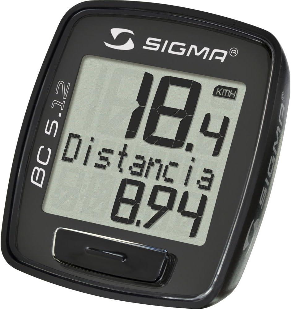 Sigma BC 5.12 Ciclocomputadores, Negro: Amazon.es: Deportes y aire ...