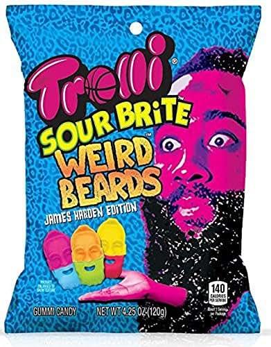 Gummy Candies: Trolli Sour Brite Weird Beards