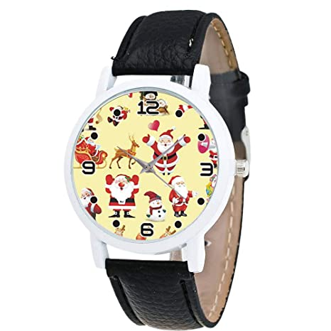 Amazon.com: Beclgo - Reloj de pulsera para mujer, correa de ...