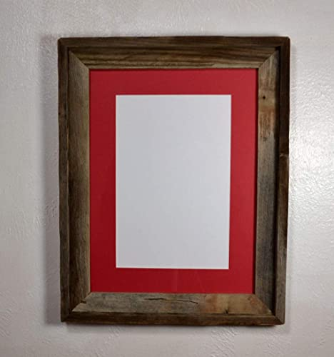 Amazon Barnwood Style Reclaimed Wood Wall Hung Picture Frame