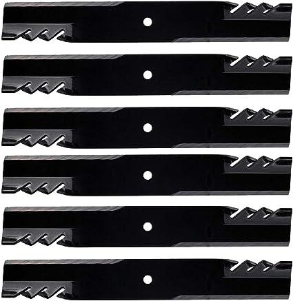 """6PK Oregon 596-347 G5 Mulching Blades for 61/"""" Great Dane D18036 GDU10232"""