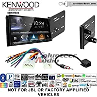 Volunteer Audio Kenwood DDX9704S Double Din Radio Install Kit with Apple Carplay Android Auto Fits 2013-2015 Scion FR-S, BR-Z