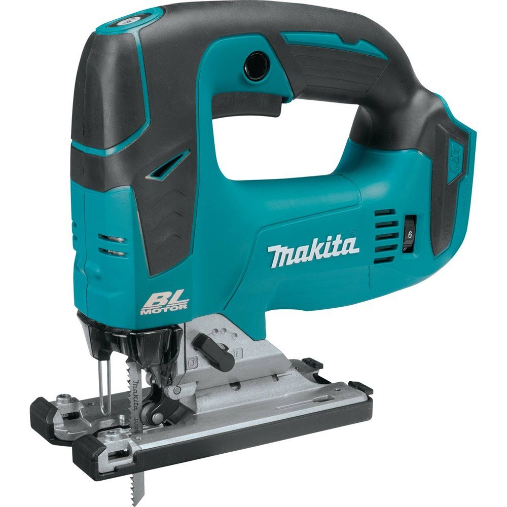 Makita XVJ02Z 18V LXT Lithium-Ion Brushless Cordless Jig Saw with BL1840B 18V LXT Lithium-Ion 4.0Ah Battery