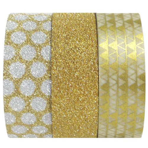 Wrapables Gold Treasure Washi Masking