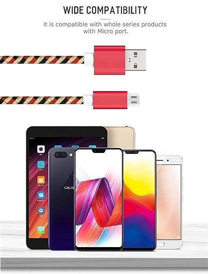 Bellatio Cable Compatible con Samsung Galaxy J3 Cable Micro ...