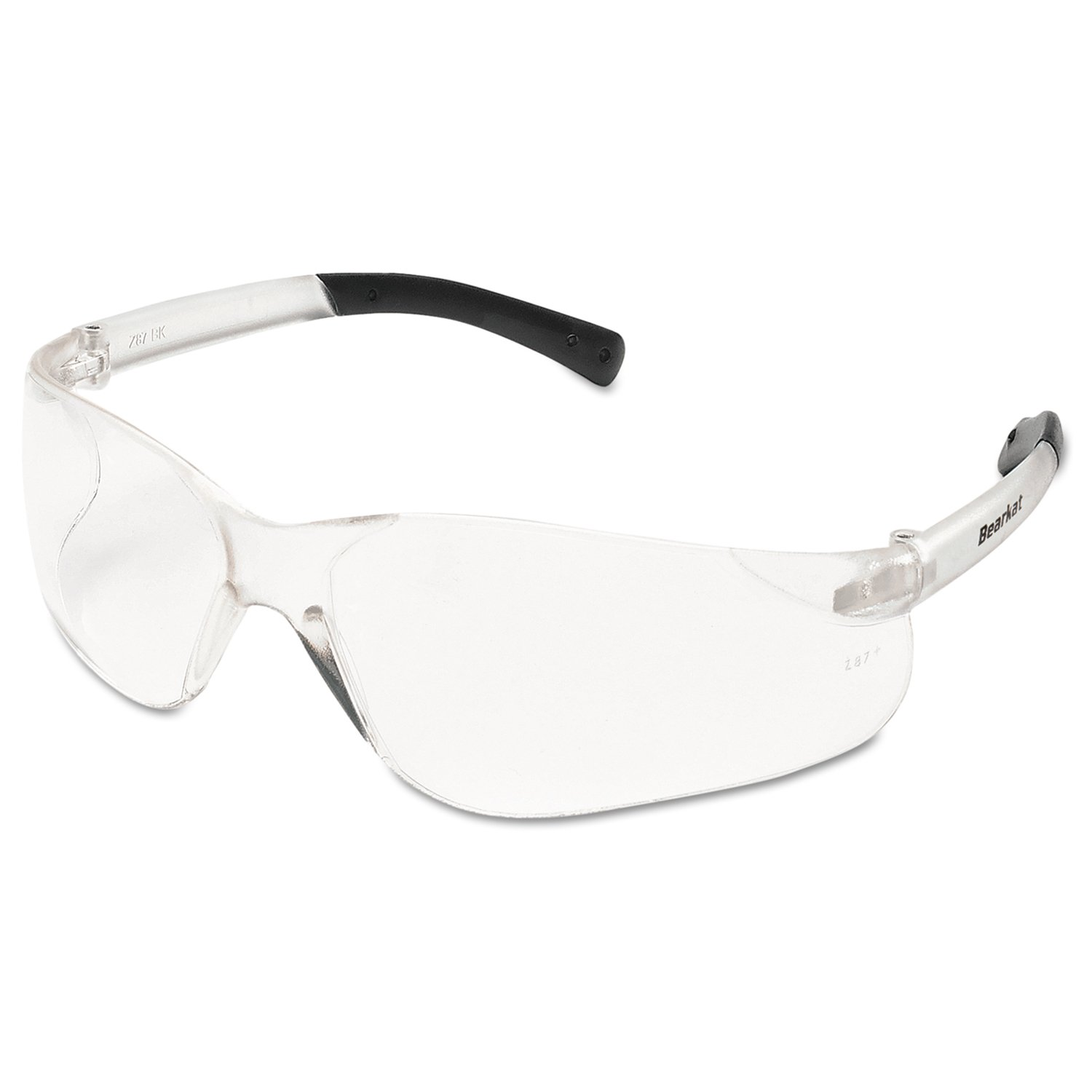 MCR Safety Bearkat Safety Glasses with Clear Lens Pair
