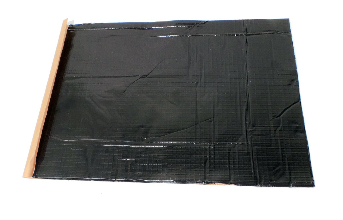 GTMat 20 SQFT Butyl Car Sound Deadener 80mil Heat Noise Insulation Dampener Sheets with Roller 5 Sheets 20 x 28.50