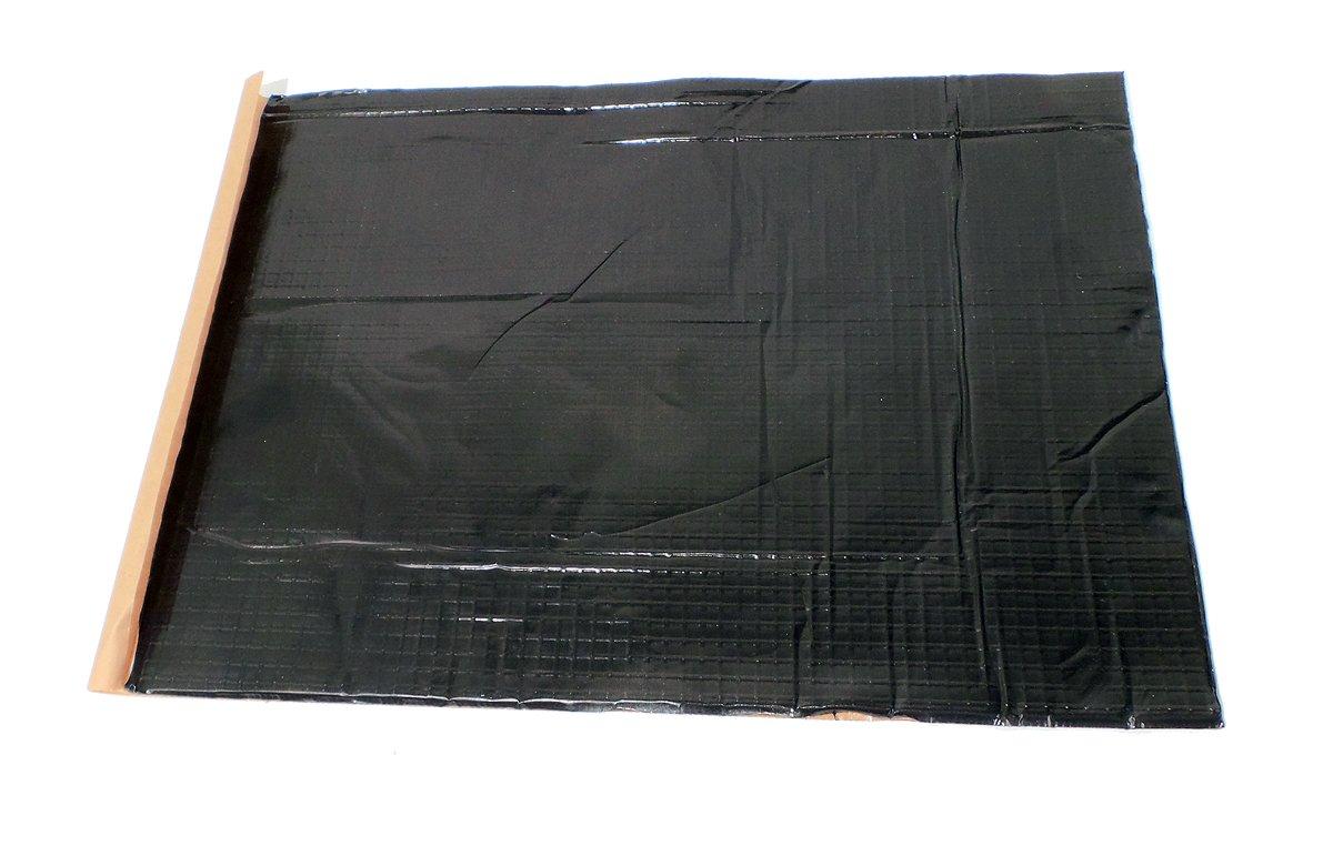 GTMat 52 SQFT Onyx 80mil Butyl Car Sound Deadener Noise Insulation Sheets with Roller Kit