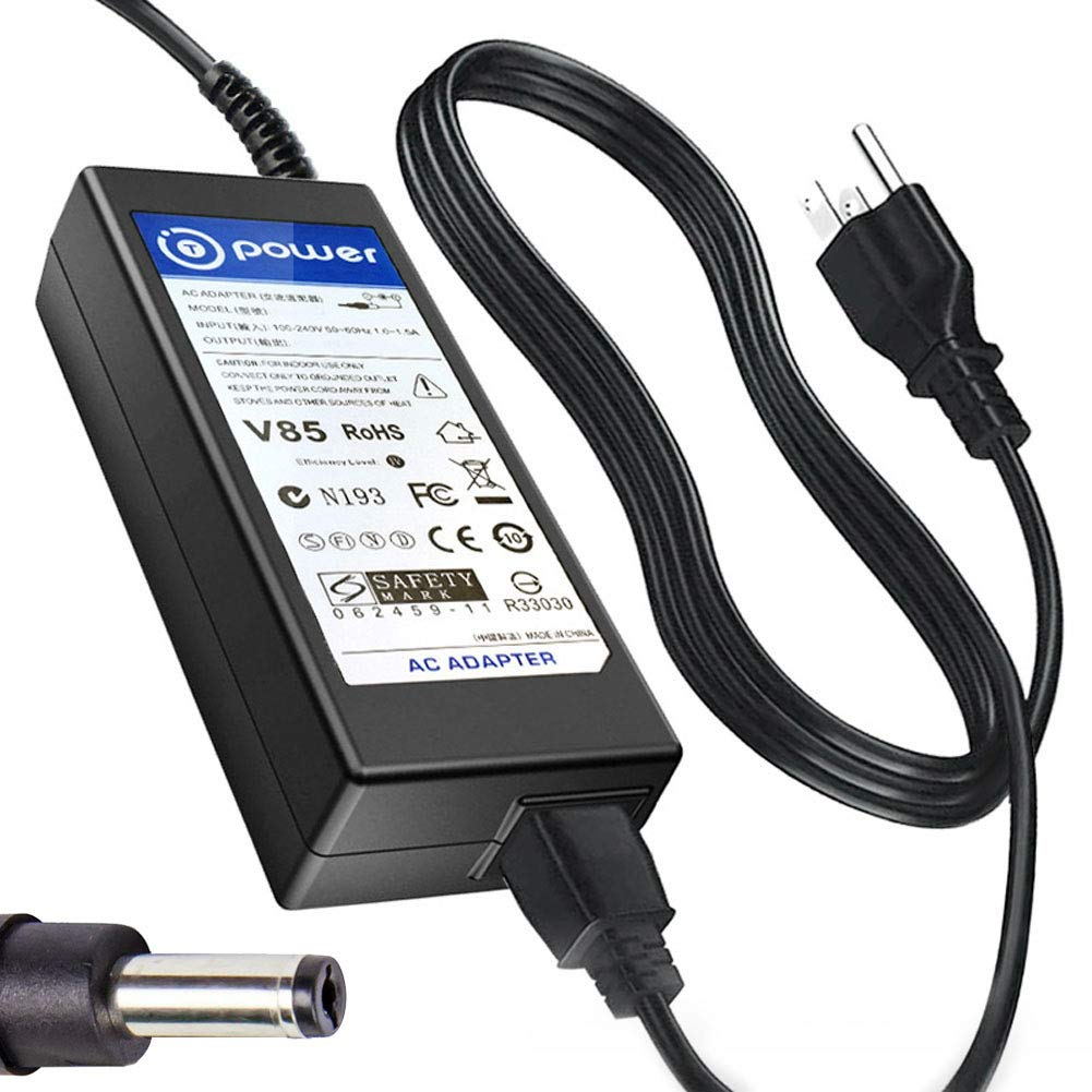 T-Power (19V 65W) AC Adapter Compatible with ZEBRA ELTRON Lable Printers 808050-001 LP2844 LP2042 TLP2824 LP2824-Z TLP3842 TLP3844-Z LP2722 LP2622 LP2122 Power Supply Charger by T POWER (Image #1)