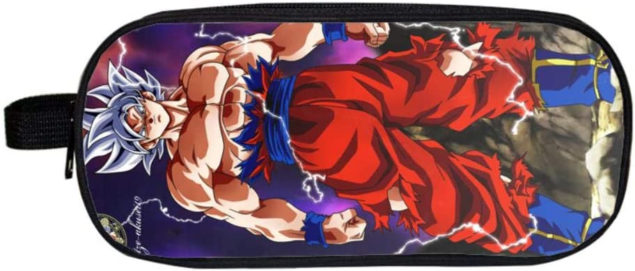 Pencil Case Dragon Ball Anime Cuadrado Estuche para lápices Estuches cosméticos para Adolescentes niños Escolares Monedero Bolsas de Maquillaje M: Amazon.es: Hogar