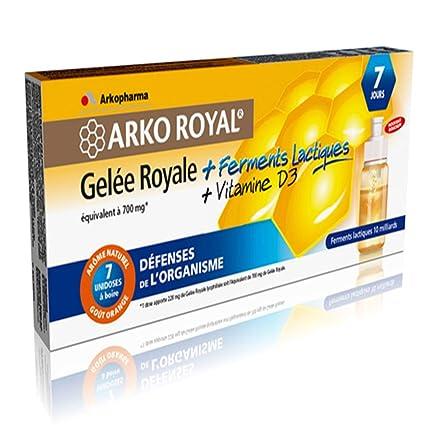 Arko real jalea real + leche enzimas y vitamina D3 Arkopharma