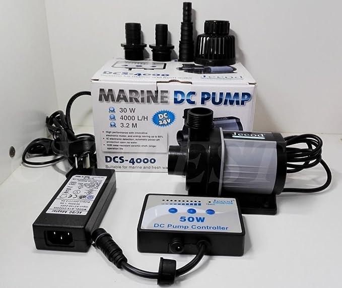 2 opinioni per Jebao (Jecod DCS 4000 Pompa silenziosa a velocità variabile