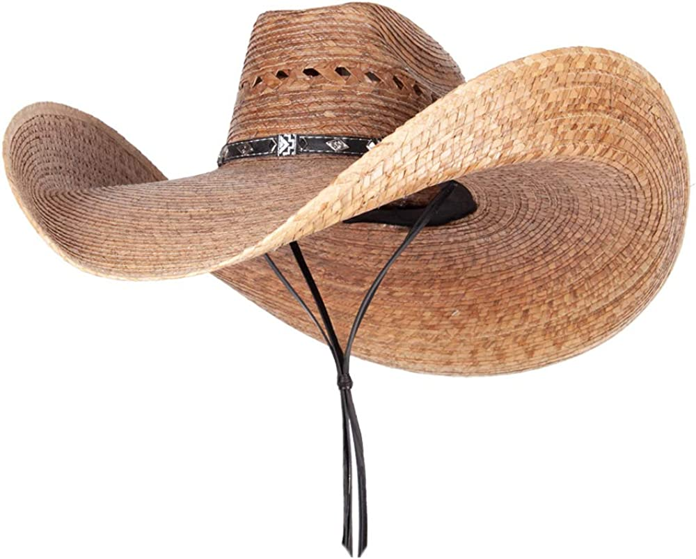 Mexican Style Wide Brim Straw Hat