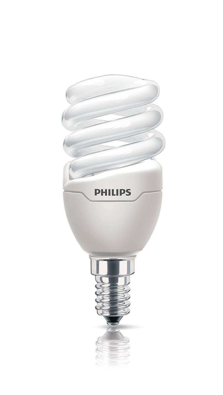 Philips Ampoule Tornado T2 Mini 8W Equivalence Incandescence : 43W Blanc chaud 929689174302