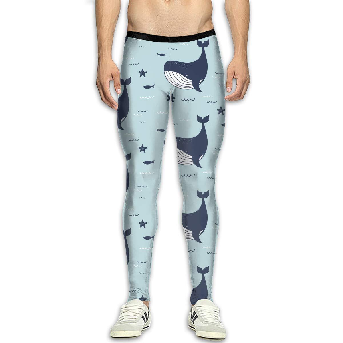 Amazon.com: Mens Whale Shark Warrior Art High Waist Skinny ...