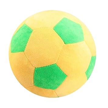 LIOOBO Juguete del balón de fútbol Amarillo de los niños del balón ...