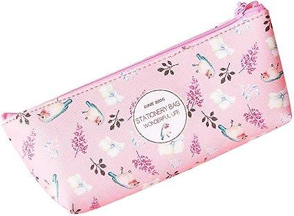 1 estuche de papel de carta Fansi para el colegio o para las necesidades diarias, color rosa 17.5 * 7cm: Amazon.es: Oficina y papelería