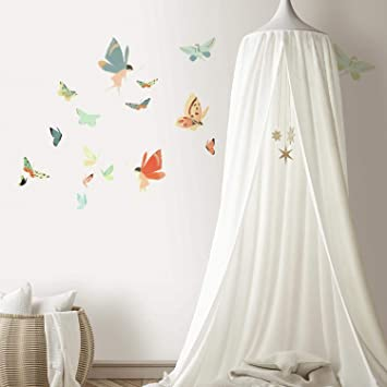 Stunning beauty enchanted unicorn motion feel vinyl wall stickers high quality