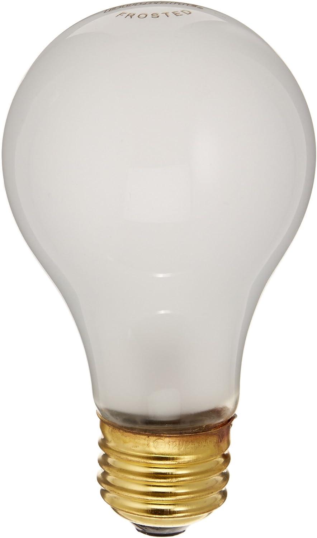 Bulbrite 25A19F//12 25Watt A19 Frost 12 Volt Incandescent Bulbs 4 Pack