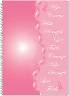 product image for House of Doolittle 2020 Monthly Planner and Journal, Breast Cancer Awareness, 7 x 10 Inches, January - December (HOD5226-20)