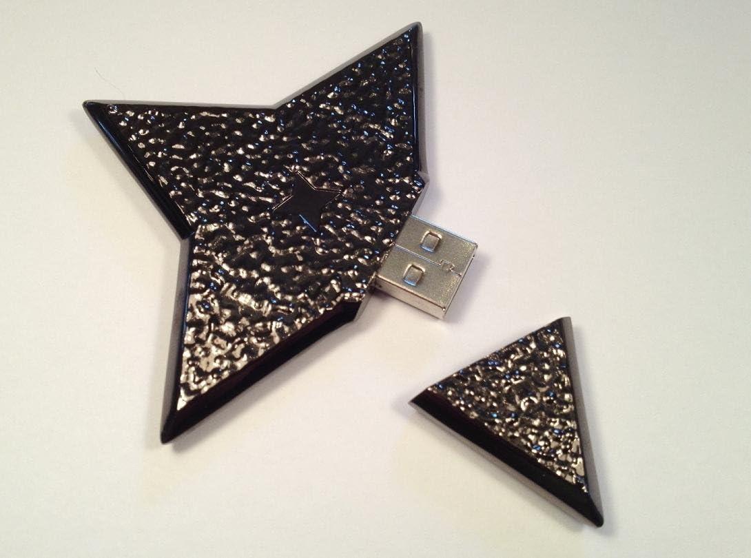 Amazon.com: Shuriken (Ninja Star) USB Flash Drive 2.0 - 8 Gb ...