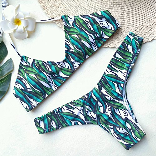 Yumimi88 Mädchen Damen Sexy Split Badeanzug Swimwear Bikini Sets ...