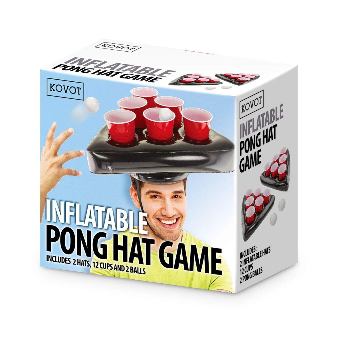 0a2442fcc89b6 Amazon.com   Kovot Pong Hat Game Set