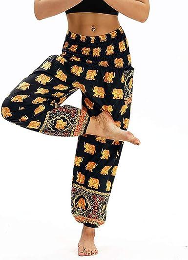Running Mrtom Pantalones De Pata Ancha Para Mujer Pantalones Deportivas Damas Anchos Largos Para Yoga Danza Fitness Pilates Playa Fiesta Pantalones De Pijama Sueltos Polainas Elasticos Cintura Alta Deportes Y Aire Libre