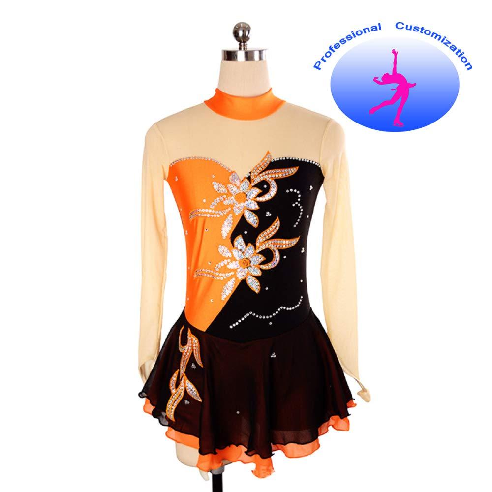 CUIXI Eiskunstlaufkleider Eiskunstlauf Kleid Für Mädchen Mädchen Mädchen Frauen Rollschuhkleid Wettbewerb Kostüm Eislauf Kleider, Professioneller Atmungsaktiver Komfort Von Hoher Qualität B07H93CZ51 Bekleidung Moderne und stilvolle Mode 1a6c23