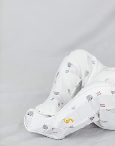 Joules Baby The Zip Babygrow White Sheep Up to 1 Month 56 cm