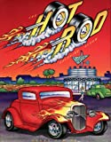 img - for The Hot Rod Coloring Album (Troubadour Press) book / textbook / text book