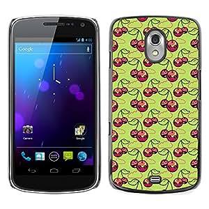 ZECASE Funda Carcasa Tapa Case Cover Para Samsung Galaxy Nexus 3 Prime I9250 No.0000214