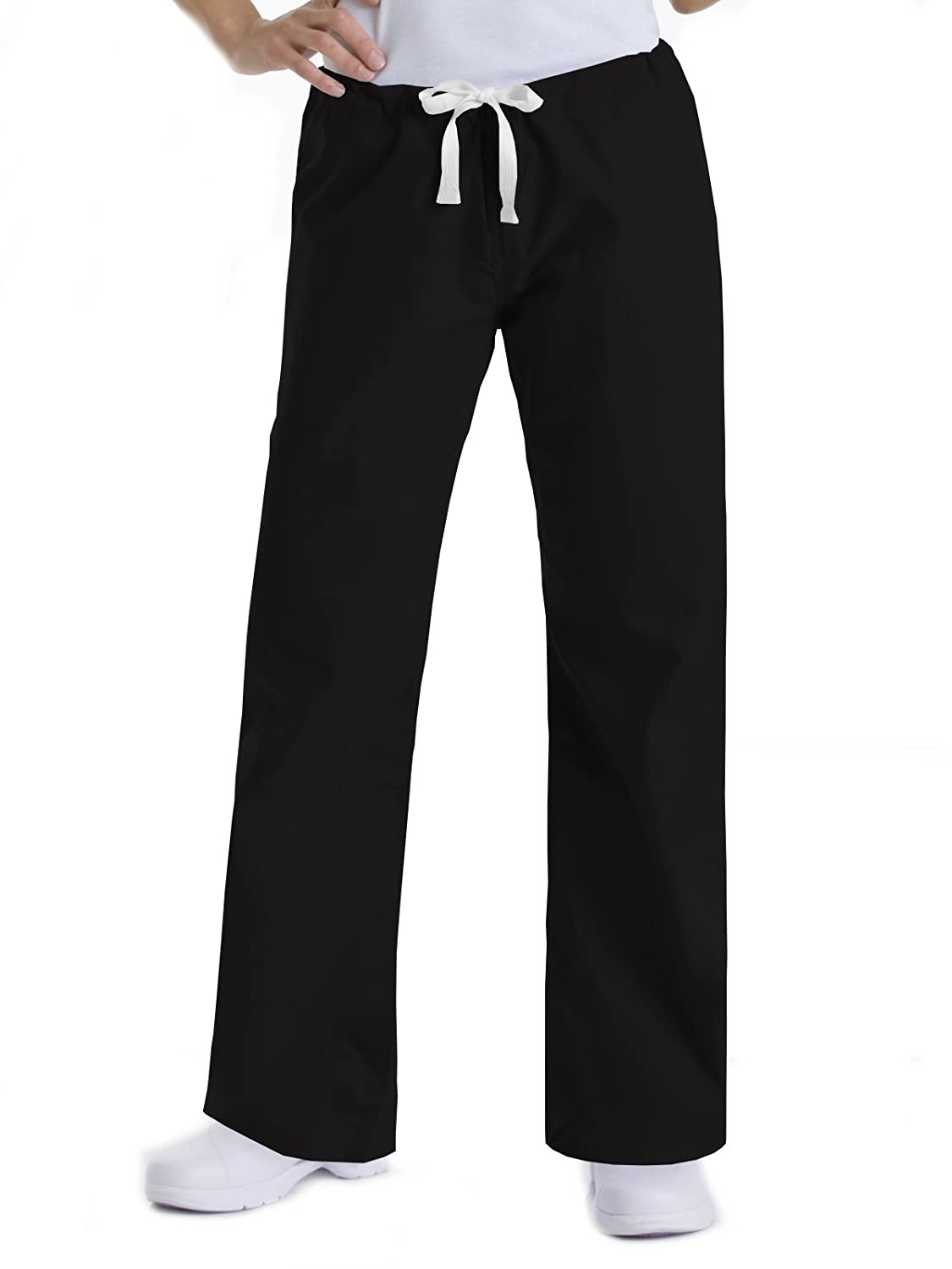 37fc100186c Amazon.com: Urbane Women's Essentials Collection Relaxed Drawstring Scrub  Pant: Clothing