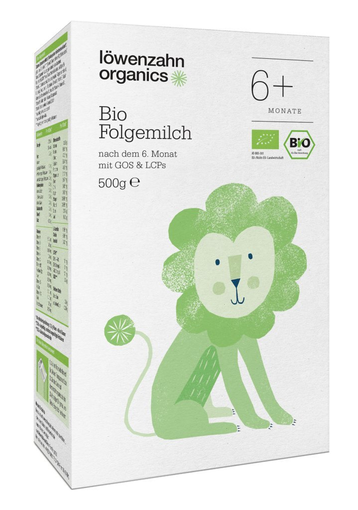 Löwenzahn Organics Folgemilch 6+ Monate Löwenzahn Organics GmbH
