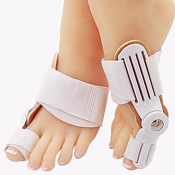 2 piezas corrector de juanetes ortopédicos para alivio de juanetes, almohadillas correctoras Hallux Valgus: Amazon.es: Salud y cuidado personal