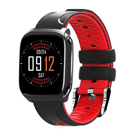 Smart Watch Fitness Tracker Impermeable Presión Arterial Oxímetro de Ritmo Cardíaco Deportes Pulsera Inteligente para Niños Mujeres Hombres ...