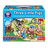 Orchard Toys Jeu de SociǸtǸ Trois petits cochons (version anglaise)