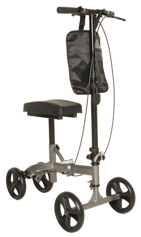 Knee Roller Foldable Knee Scooter Crutch Alternative, Dual Brakes