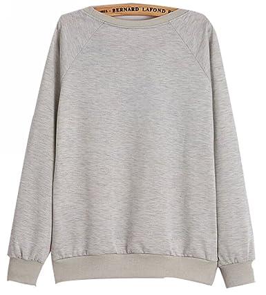 Uget Women's Long Sleeve My Neighbor Totoro Sweatshirt Pullover ...