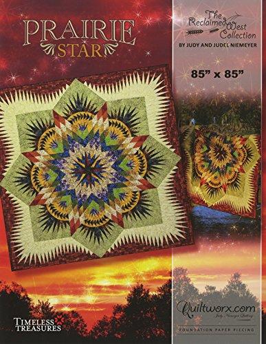 Reclaimed Prairie Star Foundation Paper Pieced Judy Niemeyer 85