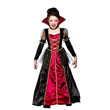 l girls princess vampira halloween costume for fairytales fancy dress kids childs large age