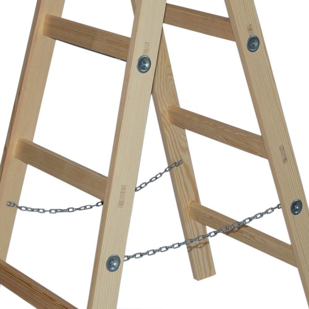 Systafex® Escalera, escalera de tijera doble, escalera de pintor ...