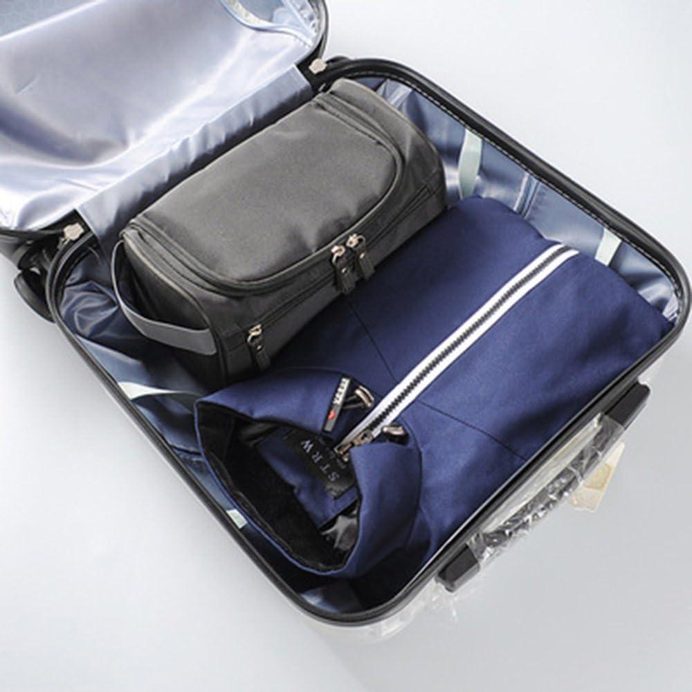 ZOONAI Hanging Travel Toiletry Storage Makeup Bag Waterproof Shaving Organizer