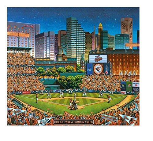 Dowdle Folk Art Puzzles - Baltimore Orioles Puzzle, 500 Pieces