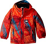 Obermeyer Kids Baby Boy's Hawk Jacket (Toddler/Little Kids/Big Kids) Thunder Red 1T